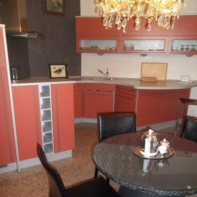 Apartment Bad Schandau Küche mit Tisch