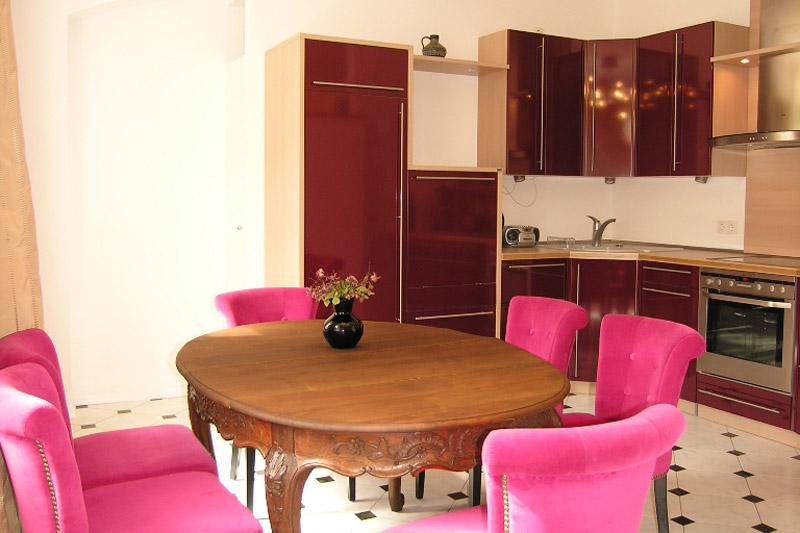 Apartment Dresden Einbauküche