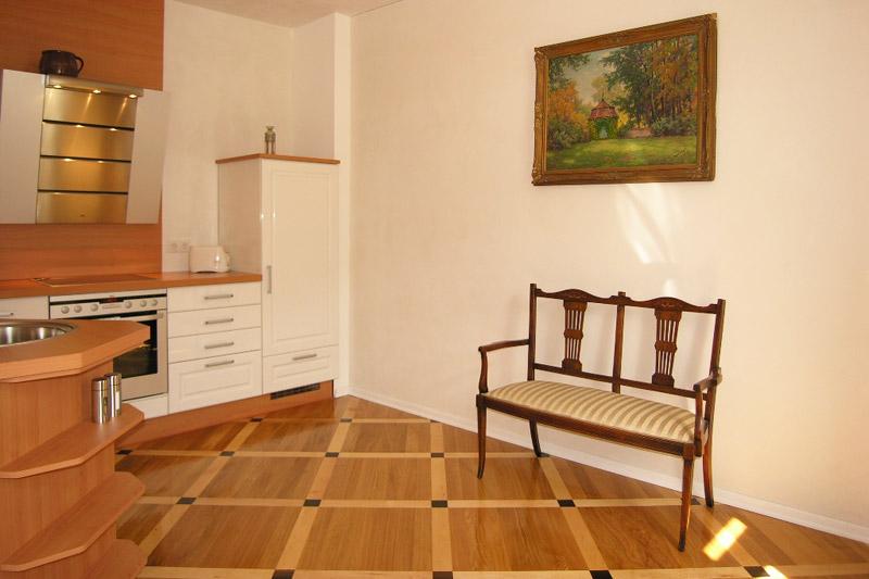Apartment Meißen Einbauküche