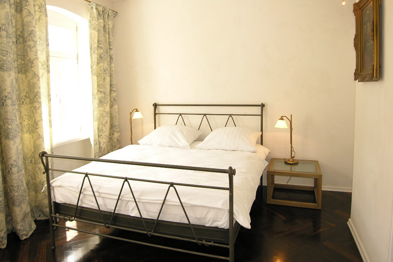 Apartment Pirna Schlafzimmer