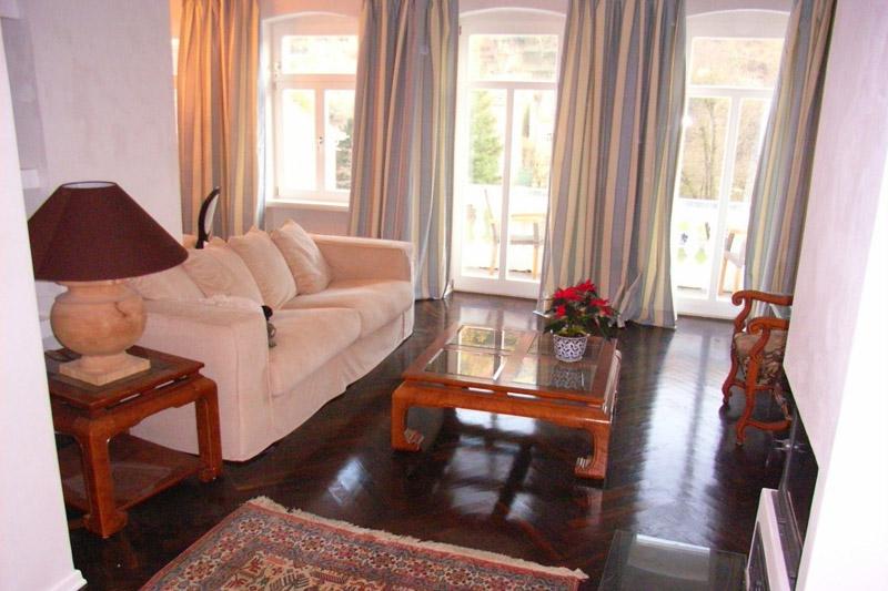 Apartment Pirna Wohnzimmer